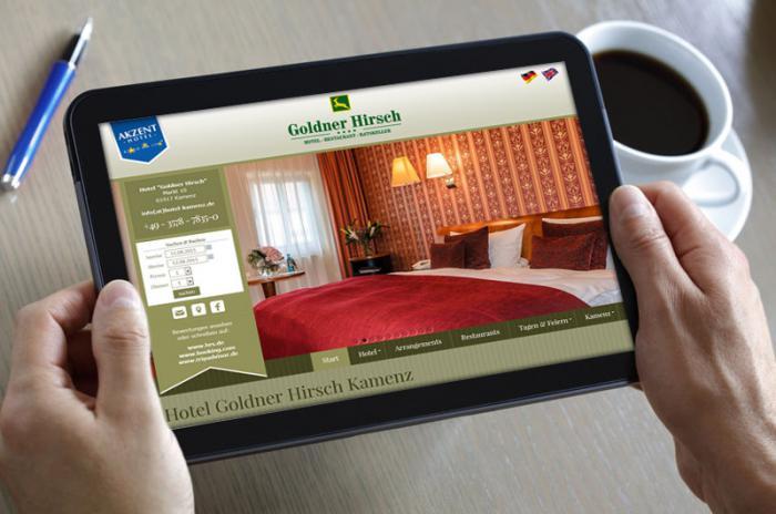 AKZENT Hotel Goldner Hirsch - Kamenz