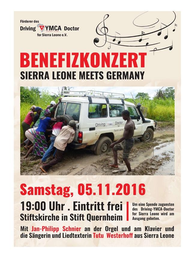 Förderer des Driving-YMCA-Doctor for Sierra Leone e.V. - Plakate DIN A2