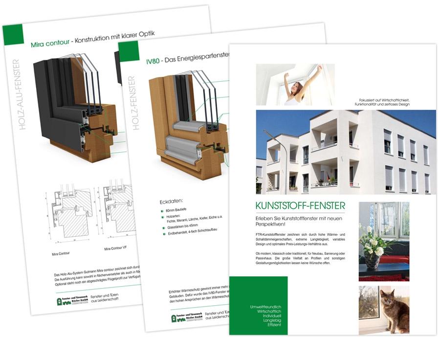 FTR Fenster- und Türenwerk Rösler GmbH - Broschüre 20-seitig